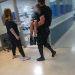 Asistieron y trasladaron al hospital a un niño que recibió una descarga eléctrica en Oberá