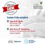 Misiones Carne, visita Oberá el lunes 4
