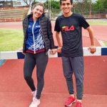 Caso y Da Silva, subcampeones Nacionales de Atletismo