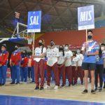 El entusiasmo y el colorido de la delegación misionera se destacaron en la apertura de los Juegos Deportivos del Norte Grande