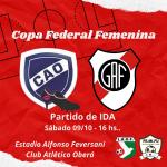 Copa Federal Argentina: La ida será este sábado