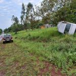 Despiste de un vehículo dejó un hombre lesionado en Villa Bonita