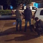 Detuvieron a dos hombres que robaron a punta de machete un automóvil