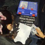 Cayó en un control policial en Oberá con cocaína