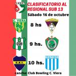 Clasificatorio al Regional Sub13