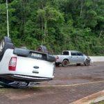 Volcó una camioneta repleta de cigarrillos de contrabando en Aristóbulo del Valle